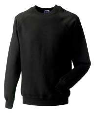 THURSO HIGH SCHOOL BLACK SWEATSHIRT WITH LOGO